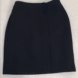 Giorgio Armani short black skirt